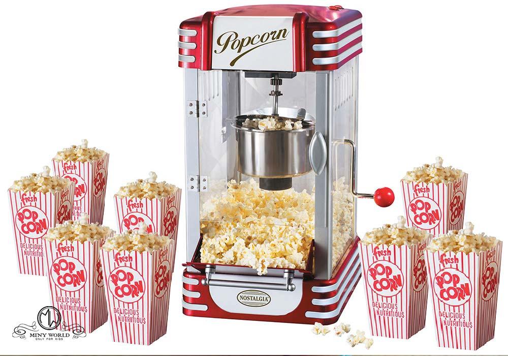 Popcorn maker vintage machine