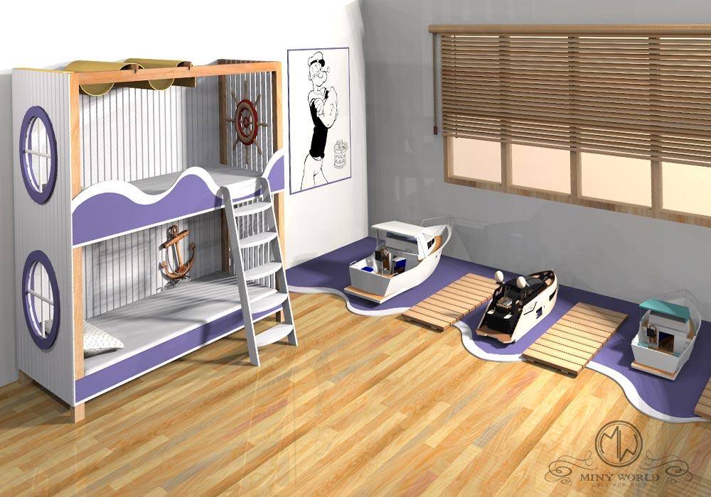 The Sailor's bedroom