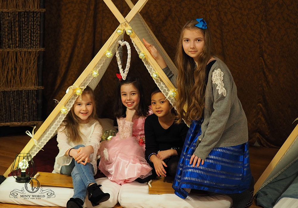 Lia's teepee party