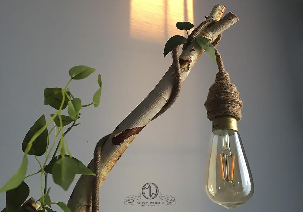Fairy light – Wood lamp for kids