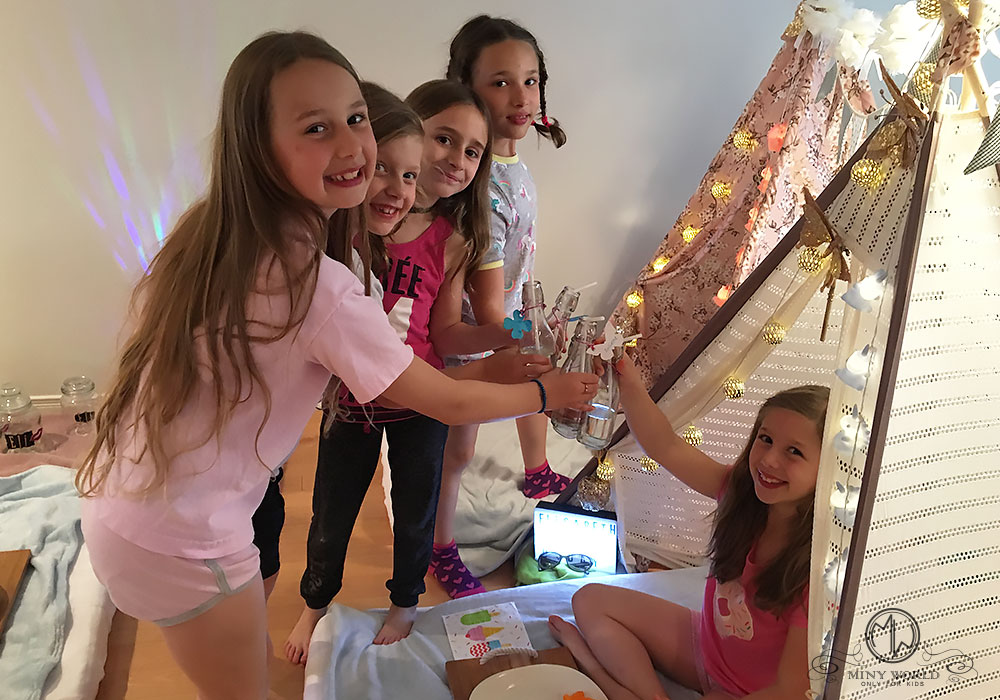 Kids Party Tent Party Teepee Party Montreal Vaudreuil