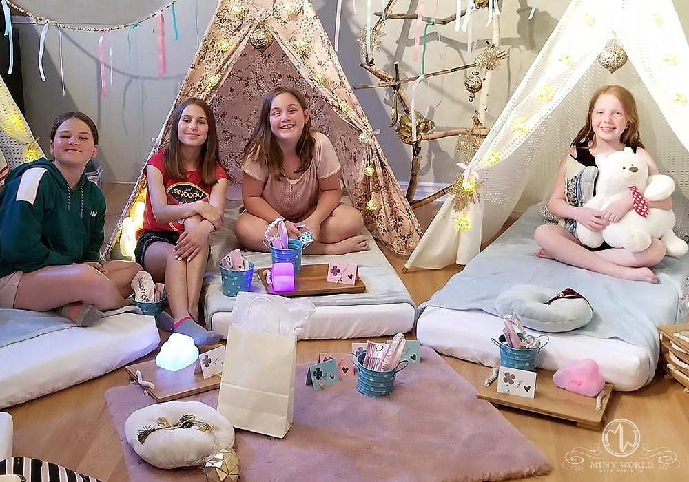Why have a Kids Tent Party?