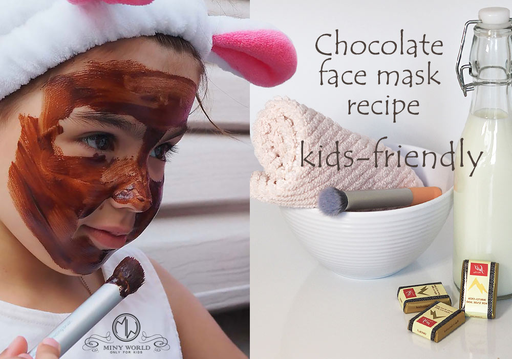 Kids-friendly face mask recipes