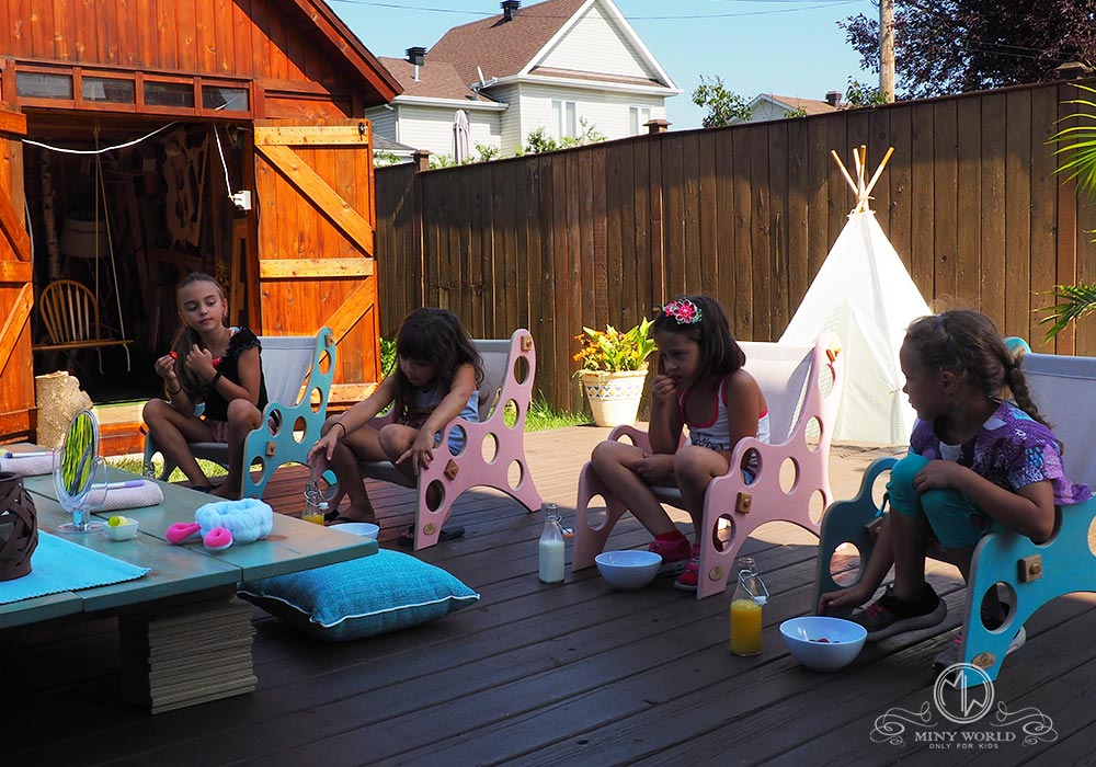 Spa party for little girls 23