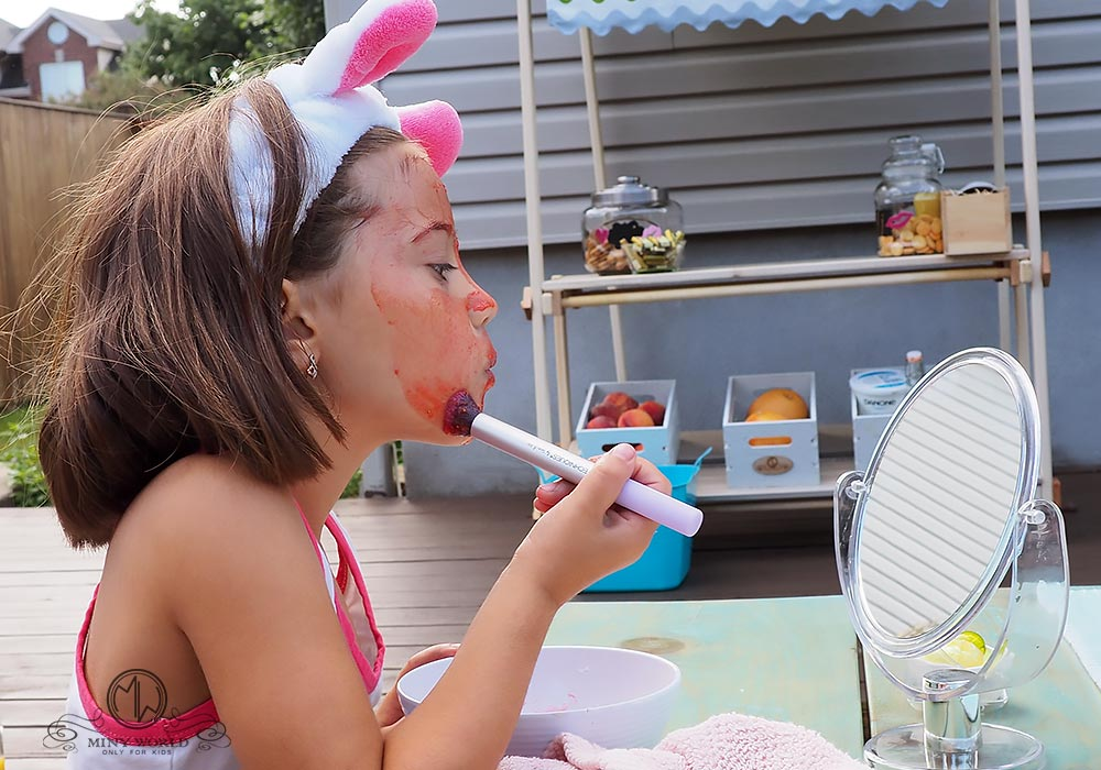 Spa party for little girls 25
