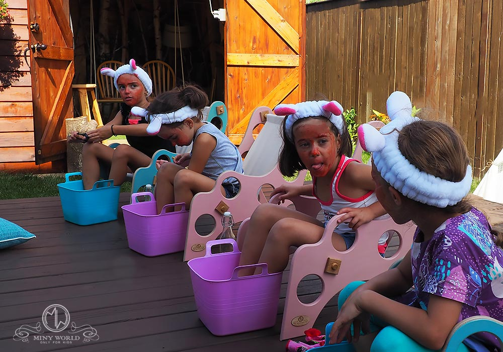Spa party for little girls 28