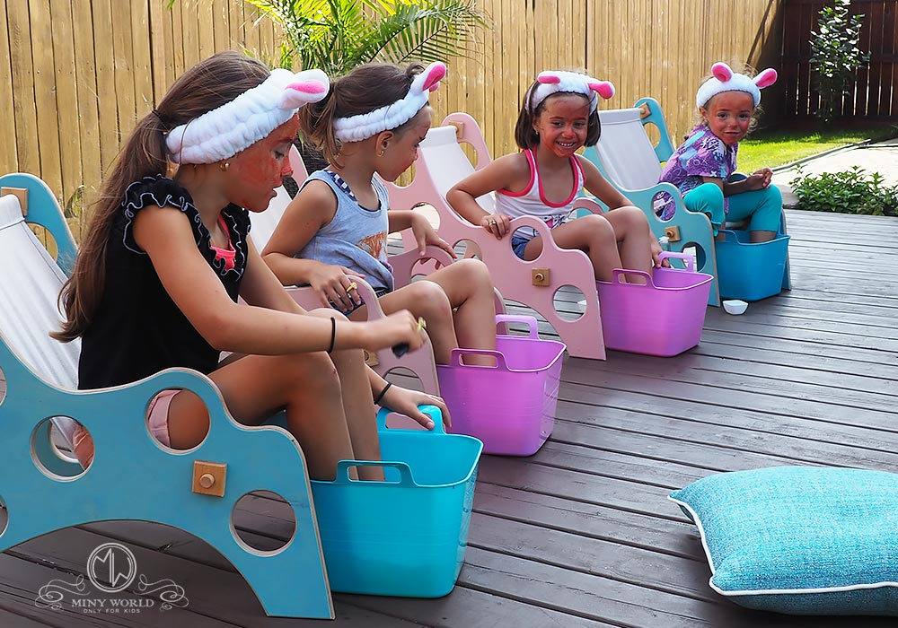 Spa party for little girls 30