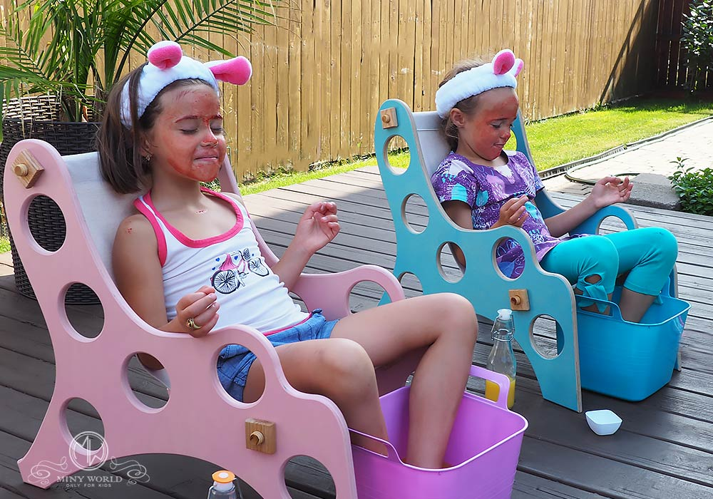 Spa party for little girls 31
