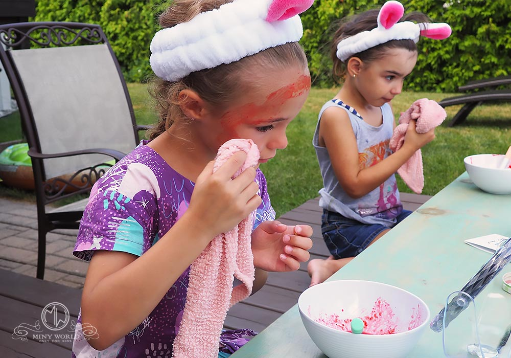 Spa party for little girls 33