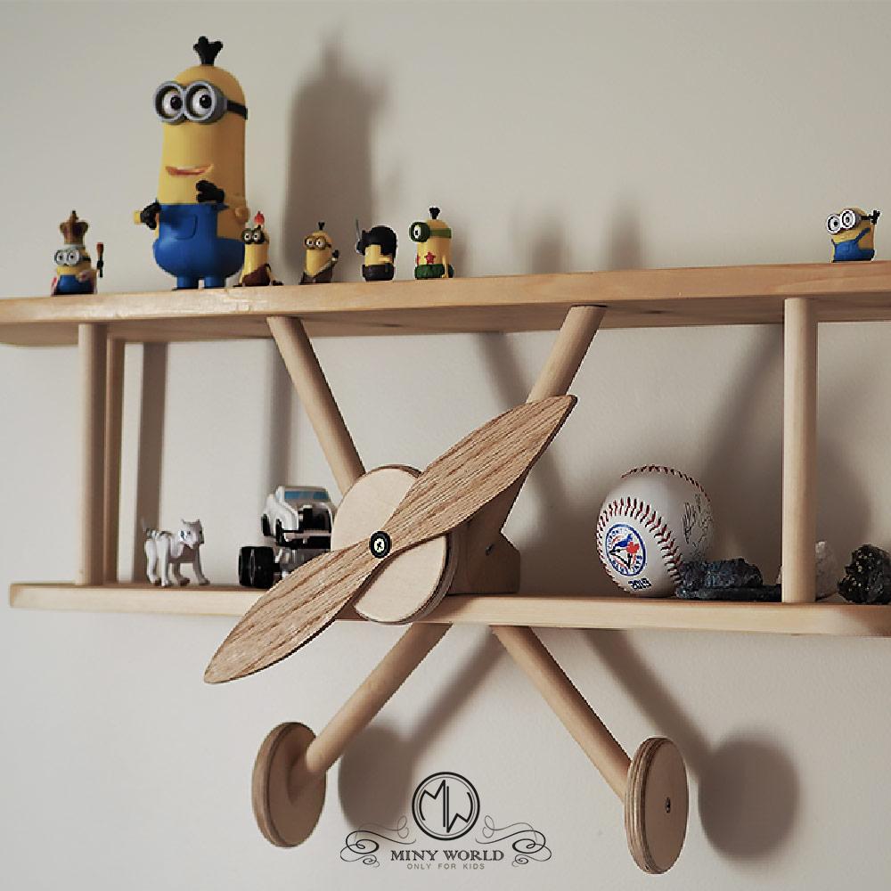 Etagere Avion Chambre Bebe airplane shelf