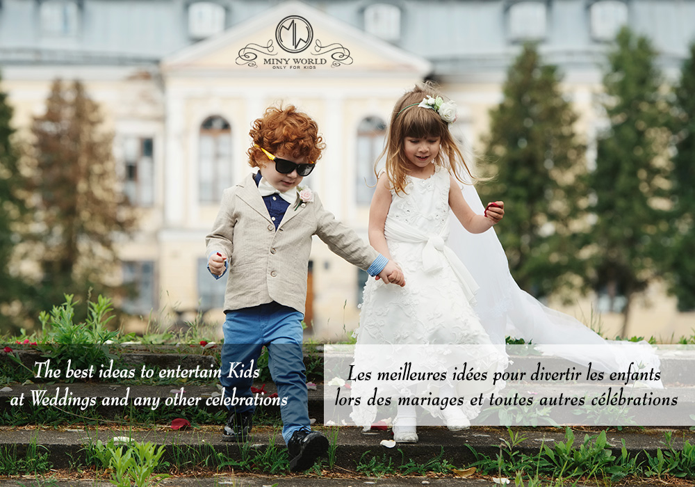 Best Ways to keep Kids Entertained at Wedings
