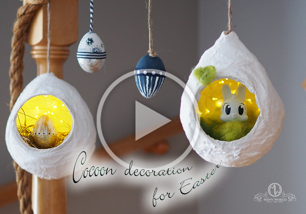 Cocoon decoration for Easter