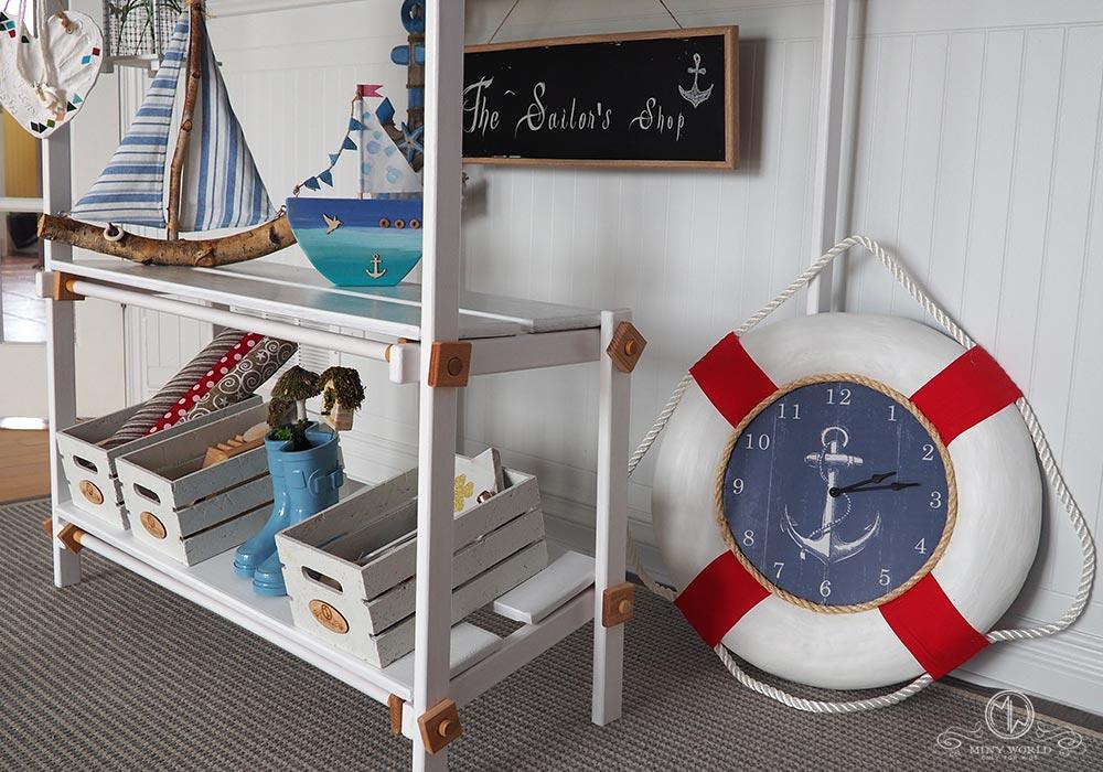 The Sailor's Shop   – Kiosk, handmade wooden play structure